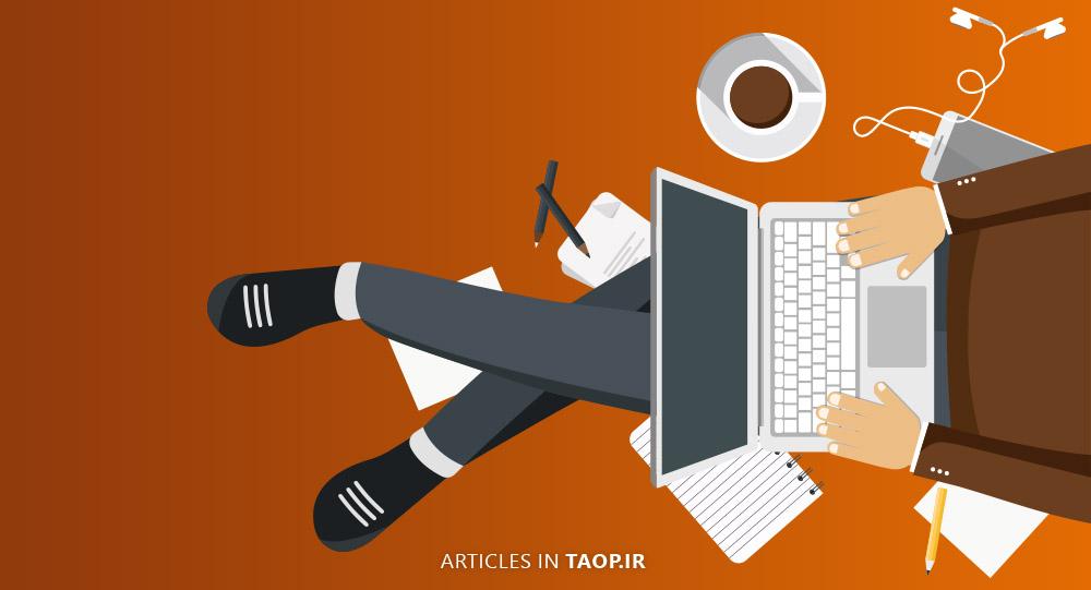 خلاقیت در طراحی وبسایت و تولید محتوا