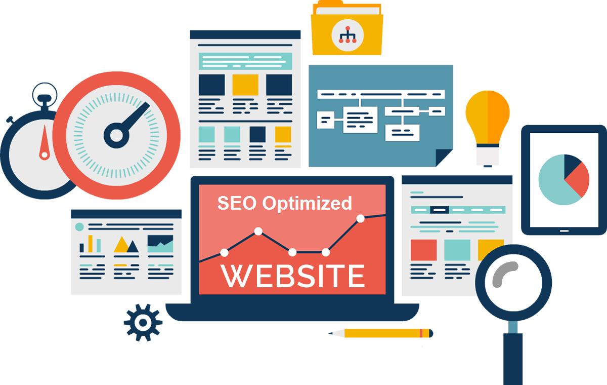 عملکرد وب سایت طراحی شده