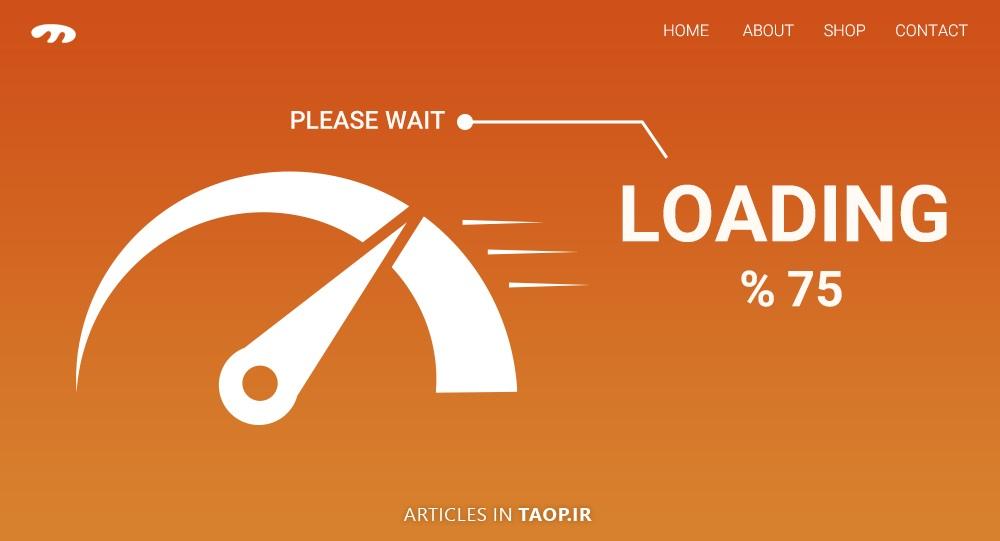 اهمیت سرعت بارگزاری سریع تر وبسایت